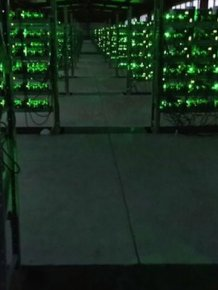 Inside a Large Bitcoin Farm