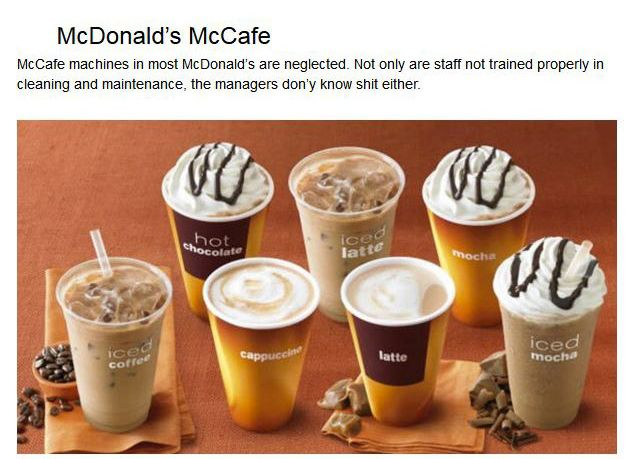 Fast Food Employees Tell Us Which Items We Should Never Eat There