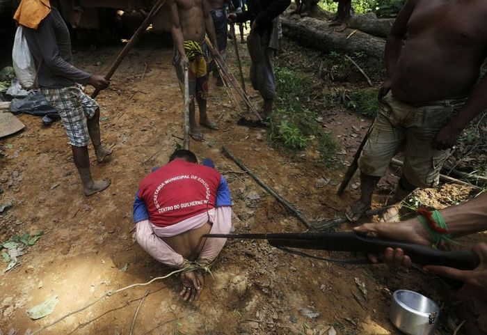 Citizens Of The Amazon Jungle Go To War With Loggers