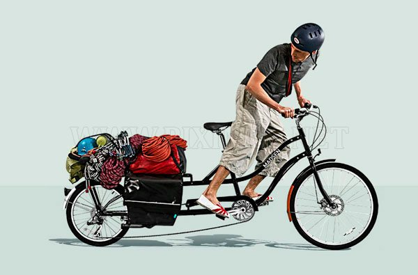 Bicycle for heavy transport