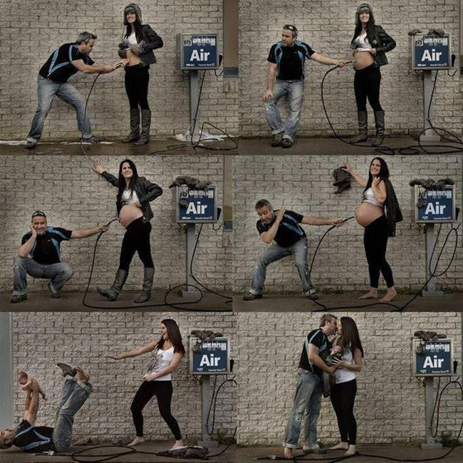 The Most Awkward Pregnancy Photos Ever