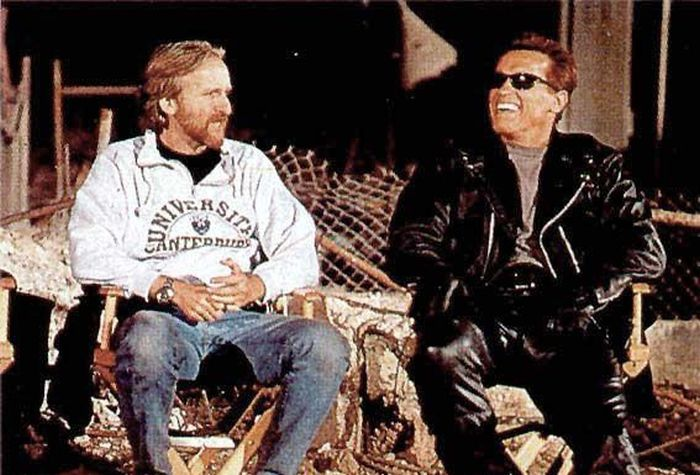 Behind The Scenes Photos From The Terminator Films