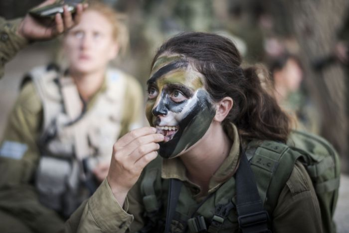 The Brave Women Of The Israeli Army