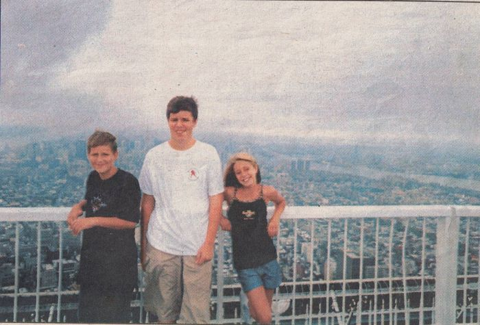 One Of The Last Pictures Taken At The World Trade Center