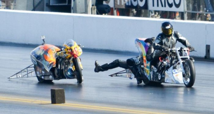 Scary Motorcycle Collision