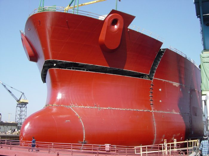 How A Super Tanker Is Built