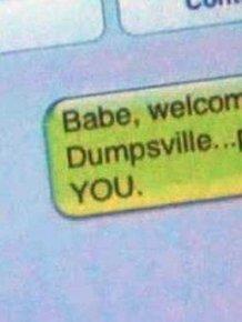 Totally Harsh Breakup Texts