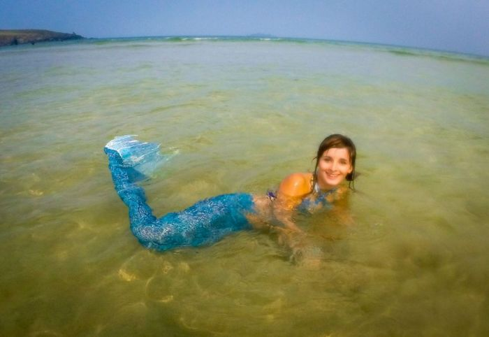 The World's First Professional Mermaid