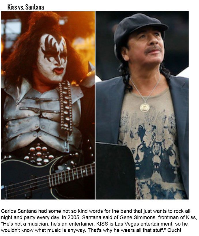 The Most Epic Rock N' Roll Feuds Of All Time