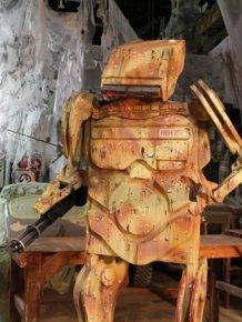 Robot Prototype For Film Studio