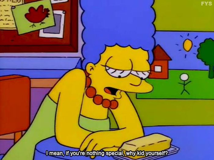The Simpsons Tell It Like It Is