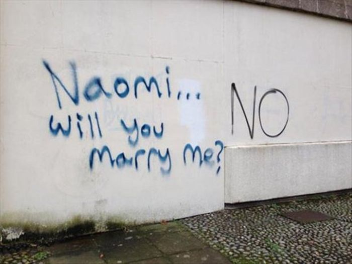 Worst marriage proposal ever