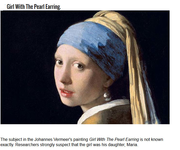 Unknown Facts About Famous Paintings