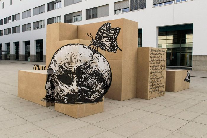 This Optical Illusion Street Art Is Like A Puzzle For Your Eyes