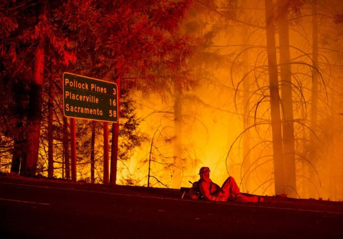 Powerful Pictures Of The California Wildfires