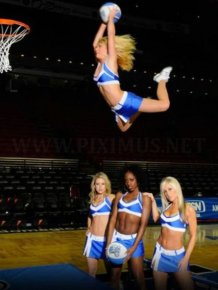 Slam Dunking NBA Girls