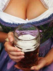 The Best Boobs And Beer From Oktoberfest