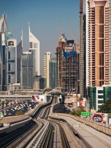 Dubai Metro Network