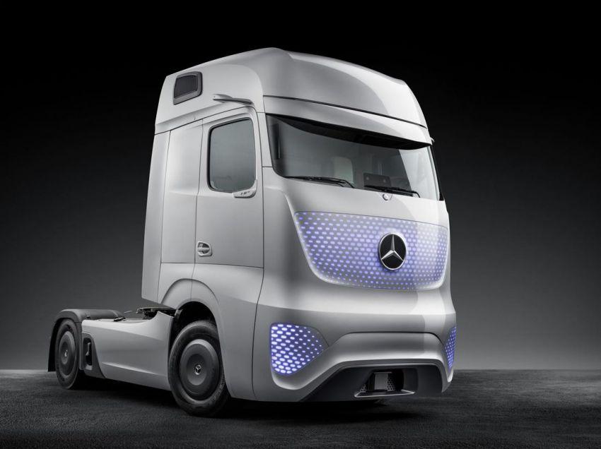 Mercedes benz future truck 2025 concept vehicles for Mercedes benz future car
