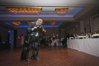 Paralyzed Man Stands At His Daughter's Wedding