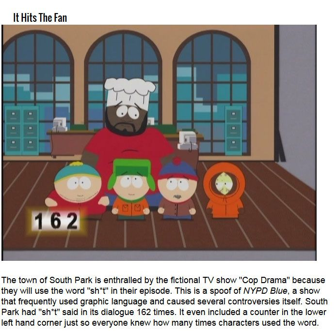 "an analysis of south park s controversial With that in mind, let's consider how south park changed over the years  to the  controversy surrounding both ""cartoons wars"" and the show's."