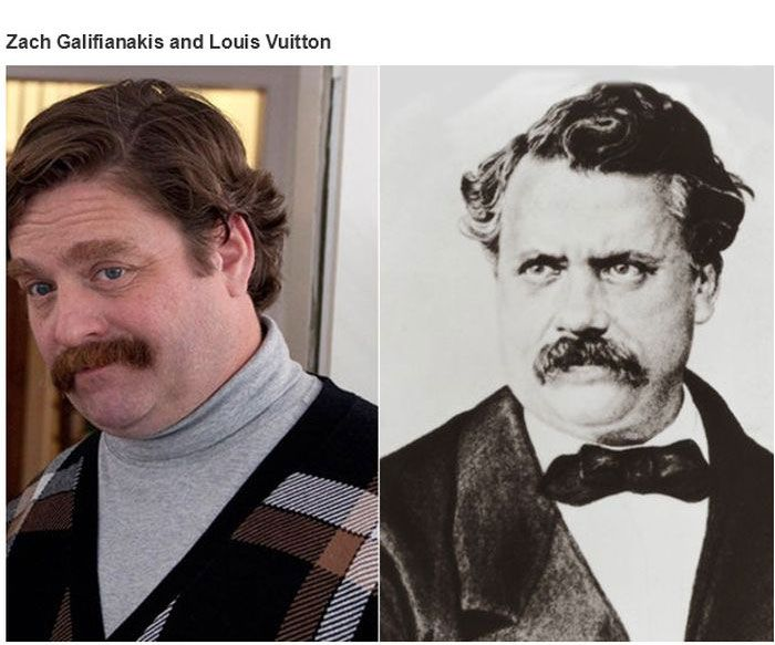 Historical Doppelgangers of Celebrities