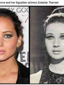 Historical Doppelgangers of Celebrities