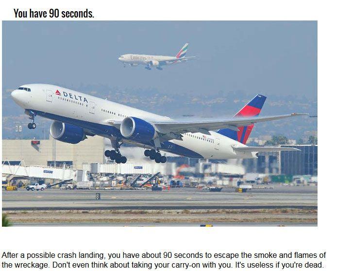 The 10 Best Ways To Survive A Plane Crash