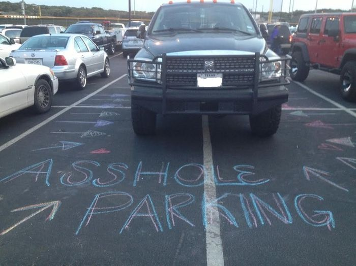 If You Park Like A Jerk You Will Pay The Price