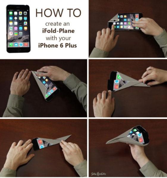 Bending IPhone 6 Plus