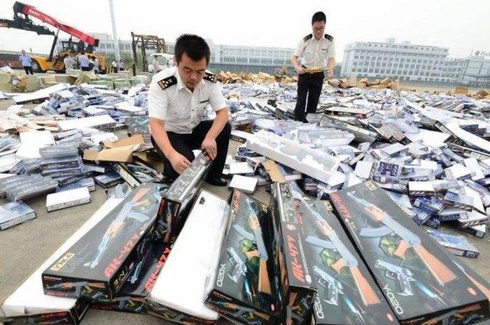 Landfill Of Weapons