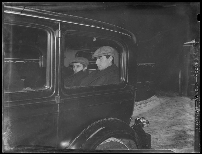 Boston Police Photos From The 1930s