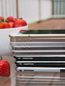 Comparing Every iPhone Model Ever