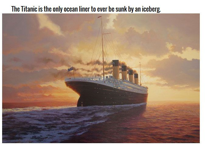 Incredible Facts About The Legendary Titanic