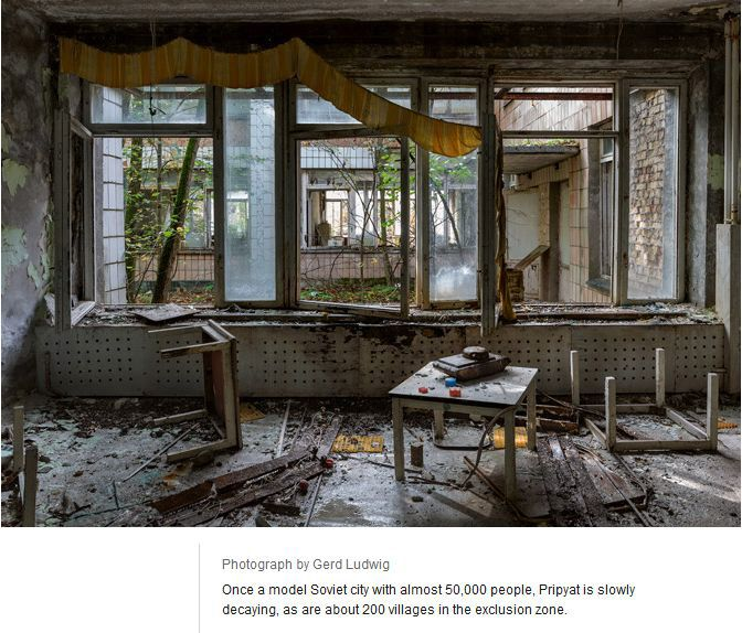 Tourists In Chernobyl