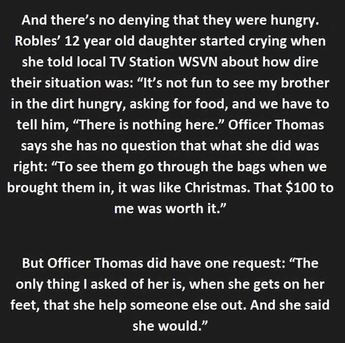 Heartwarming Story Of A Woman That Was About To Be Arrested