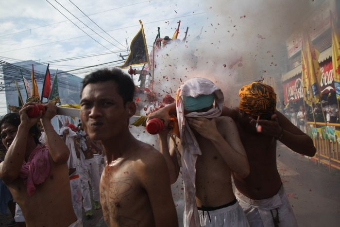 Bizarre Photos From The Phuket Vegetarian Festival