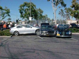 Classic Car Parade Crash