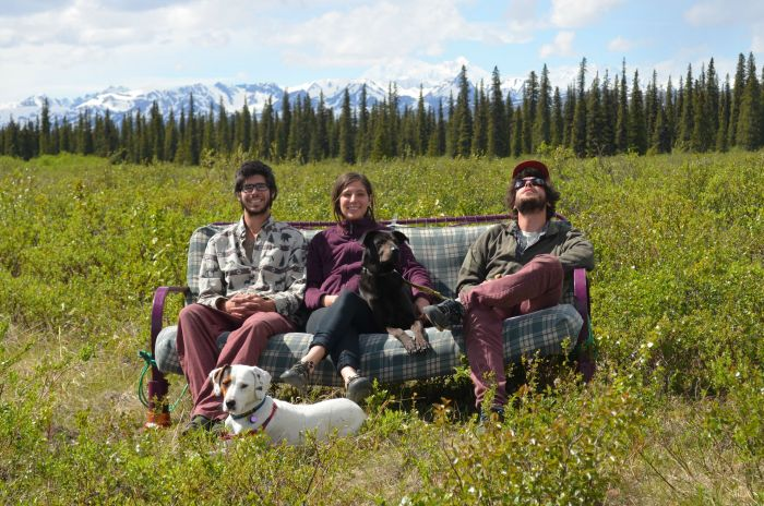 Three Friends Take Their Dogs And Their Futon Across The Country