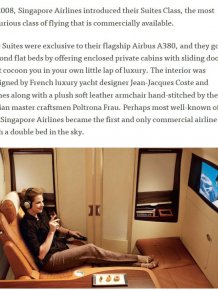 There's A Reason Why This Airline Seat Costs $23,000