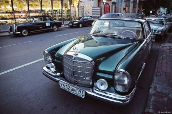 Mercedes-Benz Classic Day Moscow