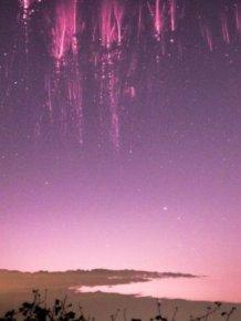 Pilot Captures Rare Celestial Phenomenon