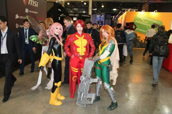 Fun Photos From Russia's First Comic Con