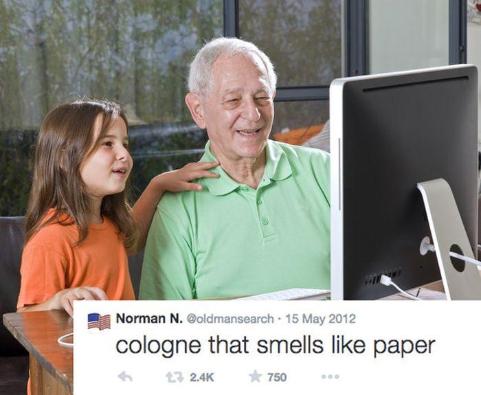When Grandpas Start Googling