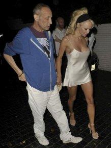Pamela Anderson Has A Wardrobe Malfunction