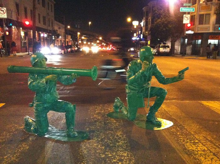 Amazing Homemade Army Men Costumes