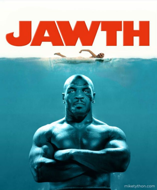 Movie Posters Made Better By Adding Mike Tyson
