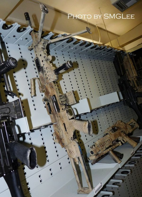 Inside A Navy SEAL Armory