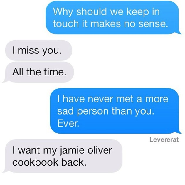 Hilarious And Depressing Texts From Your Ex