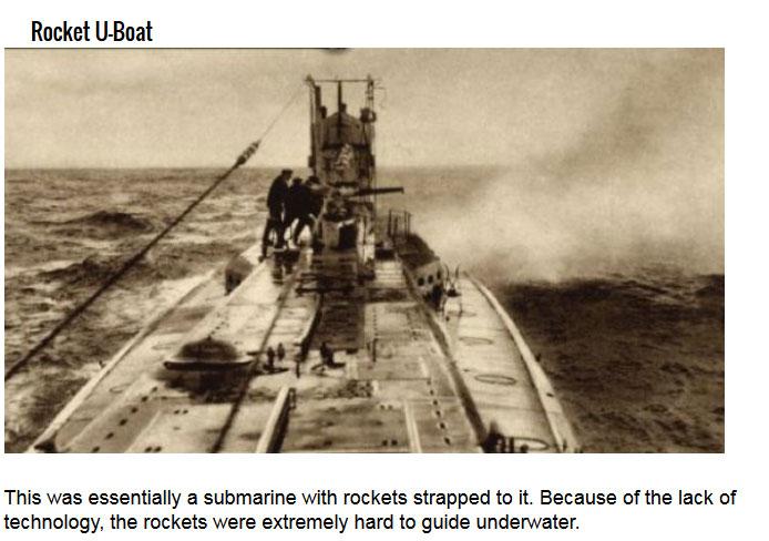 Insane Ideas For Nazi Weapons Of Destruction